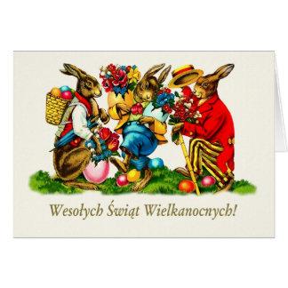 Wesołych Świąt. De Poolse Gelukkige Kaarten van