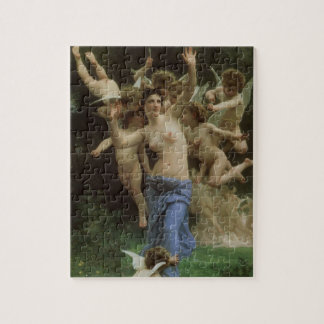 Wespennest door Bouguereau, Victorian Angels Art Legpuzzel