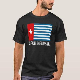 West- Papoea Merdeka! De T-shirt van de Vlag van