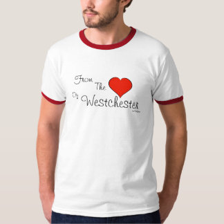 Westchester - van het Hart van T Shirt
