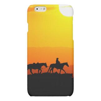Western cowboy-cowboy-Texas-western-land Matte iPhone 6 Hoesje