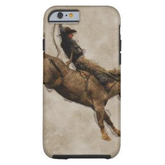 Western-stijl die de Cowboy van de Rodeo van het Tough iPhone 6 Hoesje