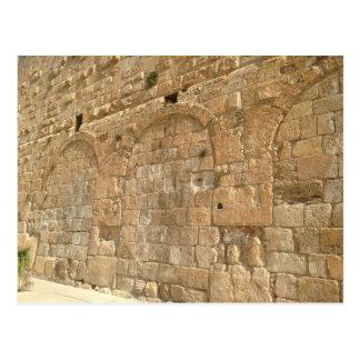Westerne Muur, Jeruzalem, Israël Briefkaart