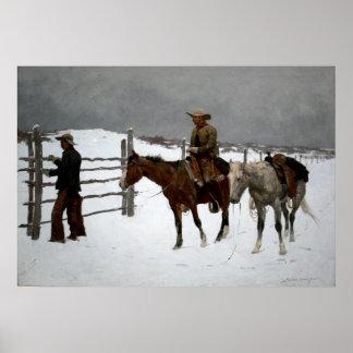 Westerne Nostalgie Poster