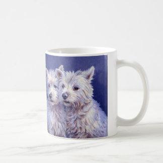 Westies - het Hoogland Terriers van het Westen Koffiemok