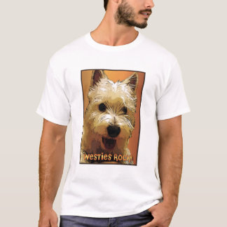 westies-rock3 t shirt