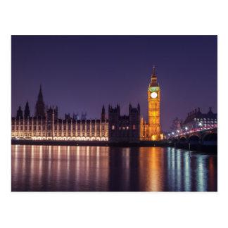 Westminster in Londen Briefkaart