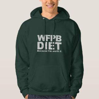 WFPB ik ben (wht) de moeite waard Hoodie