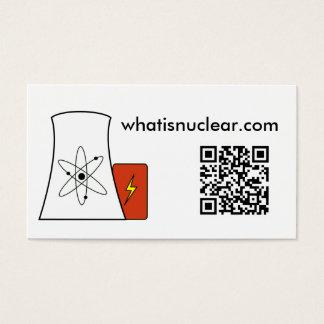 Whatisnuclear.com visitekaartjes