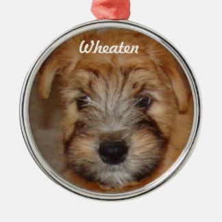 Wheaten Ornament van Kerstmis van het Puppy van