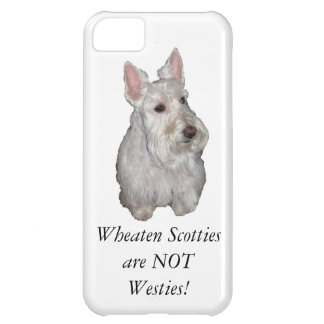 Wheaten Scotties is Geen Westies! iPhone 5C Hoesje