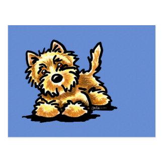 Wheaten Steenhoop Terrier Briefkaart