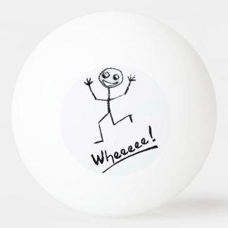 Wheeeee! De Bal van de pingpong Pingpongballen