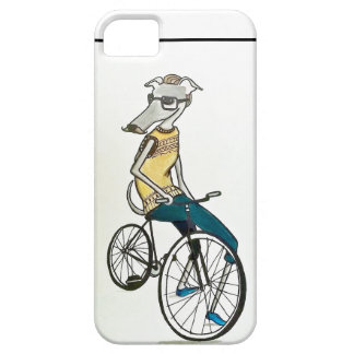 Whippet hipster (fiets) barely there iPhone 5 hoesje