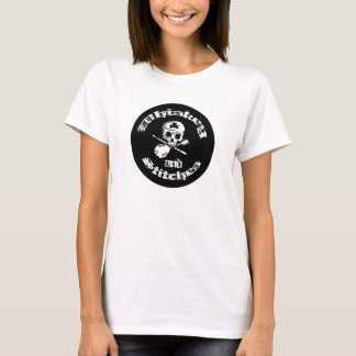 Whisky en het T-shirt van de Dames van Steken