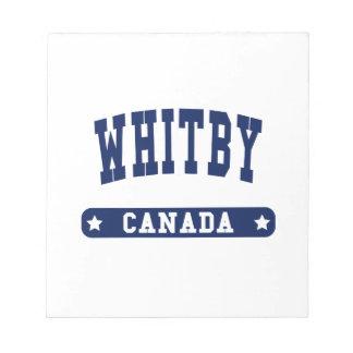 Whitby Notitieblok