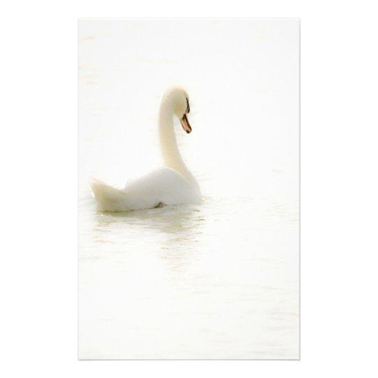 white swan briefpapier