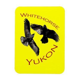Whitehorse, Yukon Vinyl Magneten