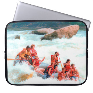 Whitewater Rafting Computer Sleeve