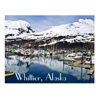 Whittier, Alaska, de V.S. Briefkaart