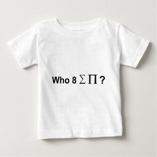 Who at alle pastei baby t shirts