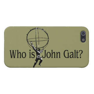 Who is John Galt? iPhone5 hoesje iPhone 5 Covers