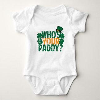 Who is Uw Padie? Grappige St. Patrick Dag Romper