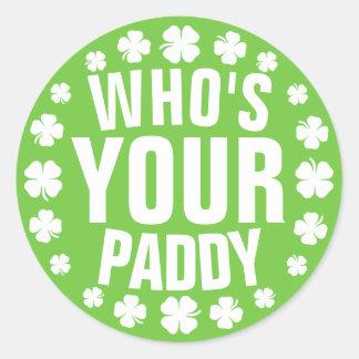 Who is Uw Padie Ronde Sticker