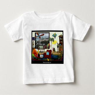 Who liet uit de VOGELS? WOW van het baby T Baby T Shirts