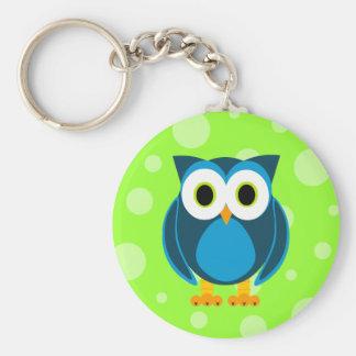 Who? M. Owl Cartoon Sleutelhanger