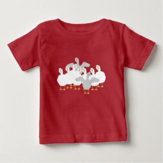 Who van de gans de T-shirt van het Baby