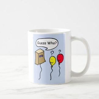 Who van de gissing, Mok van de Koffie van de