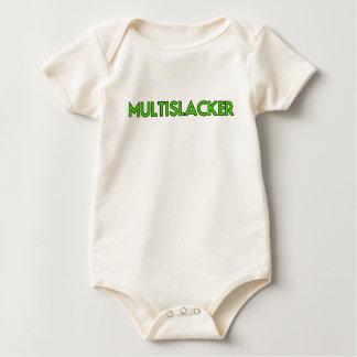 Who van de Persoon van Multislacker krijgt Heel Baby Shirt