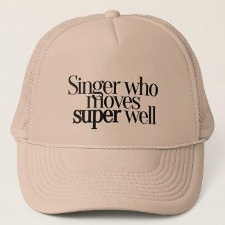 Who van de zanger beweegt goed het Super Pet van