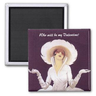 Who zal mijn Valentijn zijn? Magneet