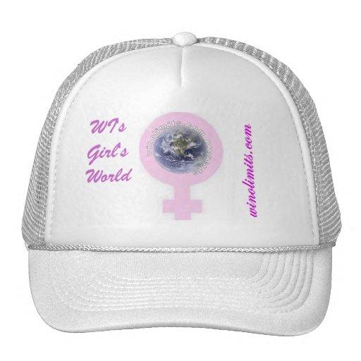 WI het Officiële Pet van de Wereld van Meisjes