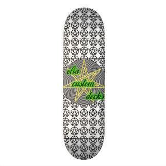 wiccan dek skateboard deck