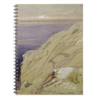 Wied Zurrik, Malta, 10 am, 11 Maart (w/c, pen, B Ringband Notitieboek