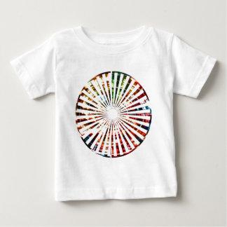 Wiel van Fortuin - het Rode Design van de Baby T Shirts