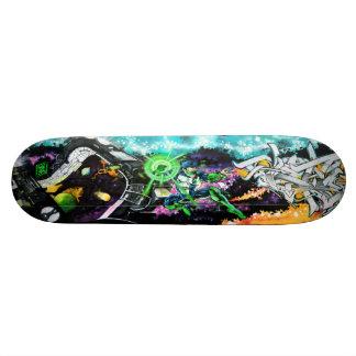 Wielder van de Smaragdgroene Bevoegdheden - Sk8 Persoonlijk Skateboard