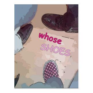 Wiens Schoenen Briefkaart