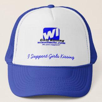 wigknewlogoblue, steun ik Meisjes K… - Aangepast Trucker Pet