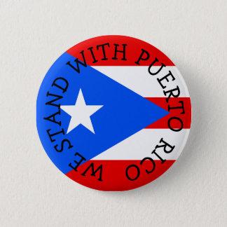 Wij bevinden ons met de Knopen van Puerto Rico Ronde Button 5,7 Cm
