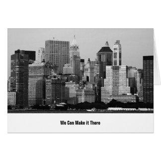 Wij bewegen ons aan New York Briefkaarten 0
