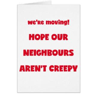 Wij bewegen ons! de Griezelige Buren van | - Kaart