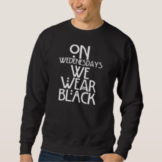 Wij draag Zwarte Trui