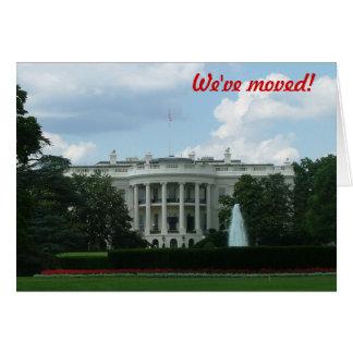 Wij hebben - ons aan Washington DC bewogen Briefkaarten 0