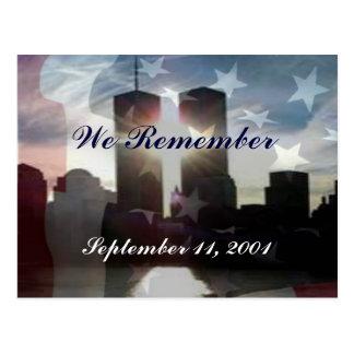 Wij herinneren 11 het Briefkaart van September