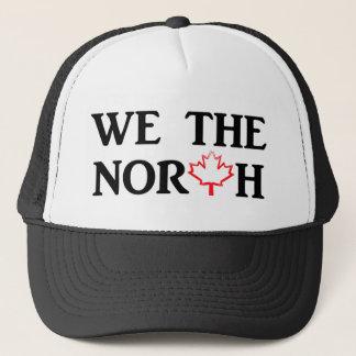Wij het Noorden met het Rode Blad van de Esdoorn Trucker Pet