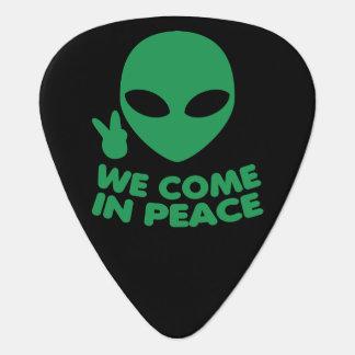 Wij komen in de Vreemdeling van de Vrede Gitaar Plectrum 0